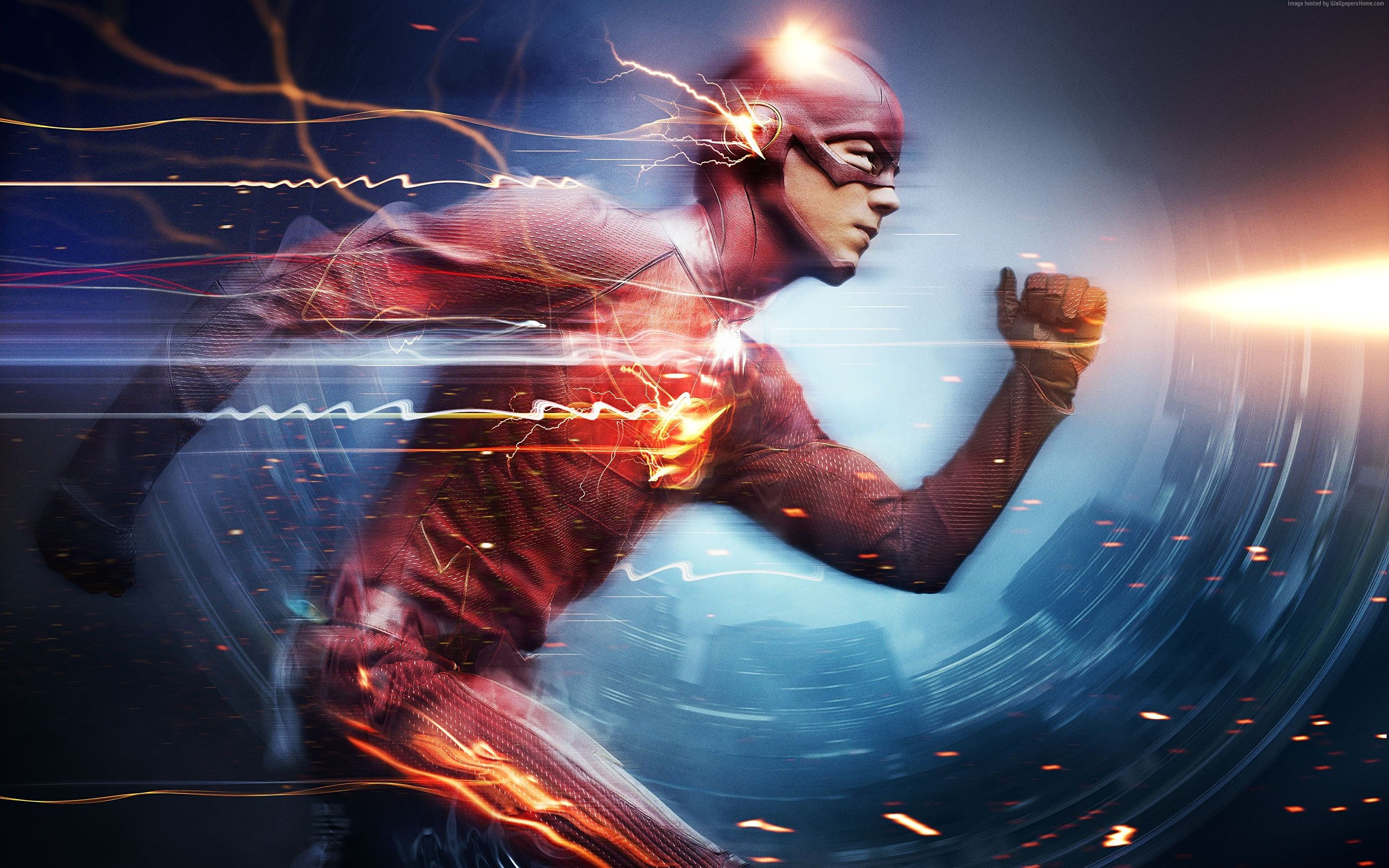 The Flash Running Wallpapers   Top The Flash Running 2880x1800