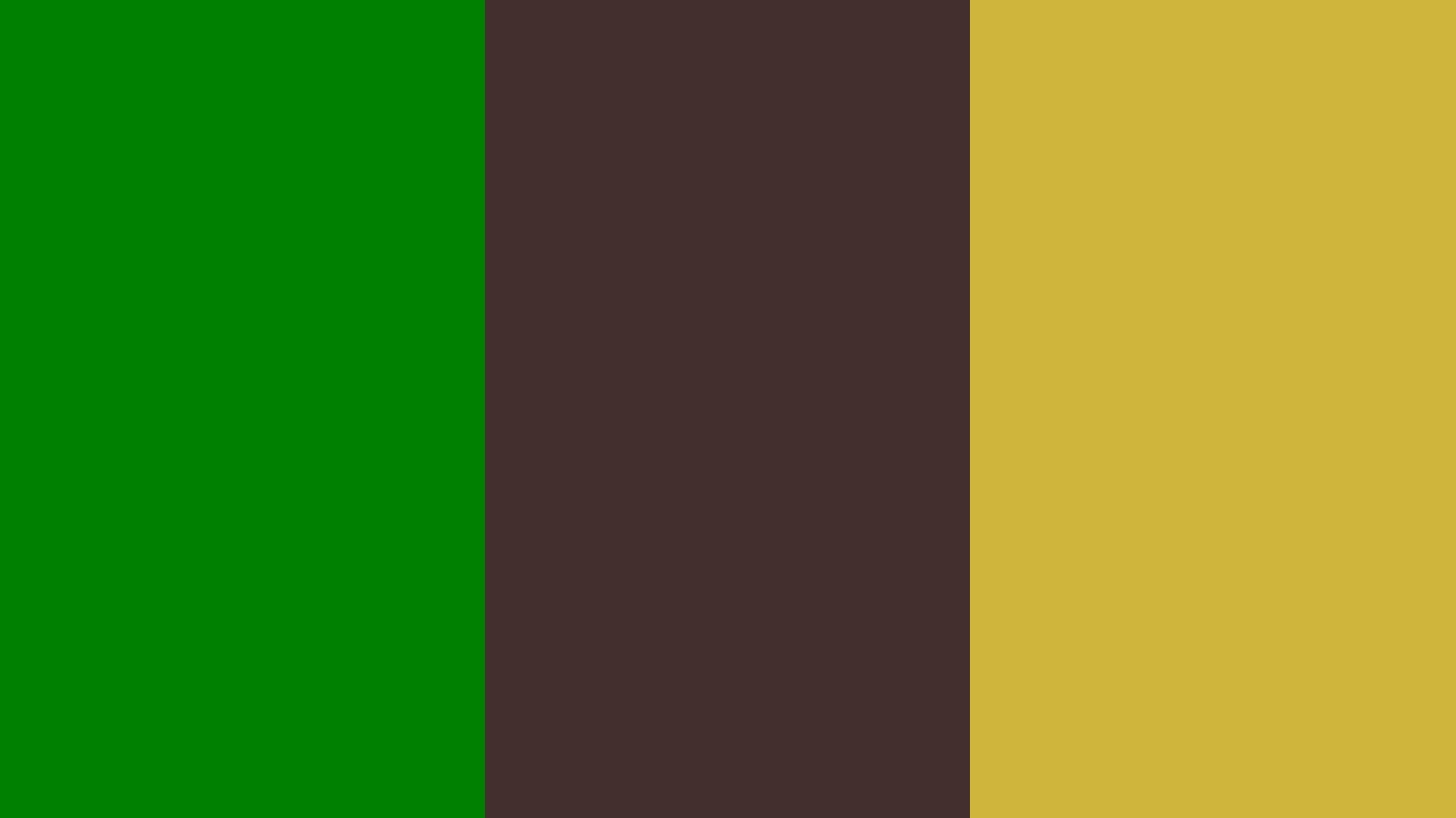 1366x768 resolution Office Green Old Burgundy and Old Gold solid 1366x768