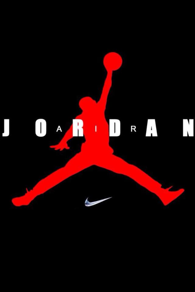 Nike Air Jordan Logo Wallpaper Nike Air Jordan Logo Wallpaper 640x960