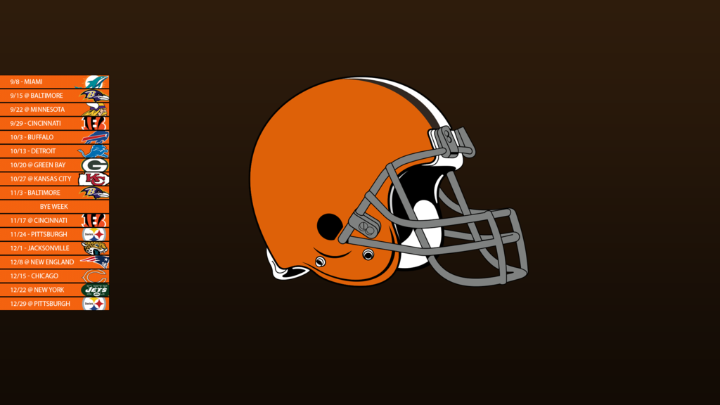 Cleveland Browns PC Wallpaper 1024x576