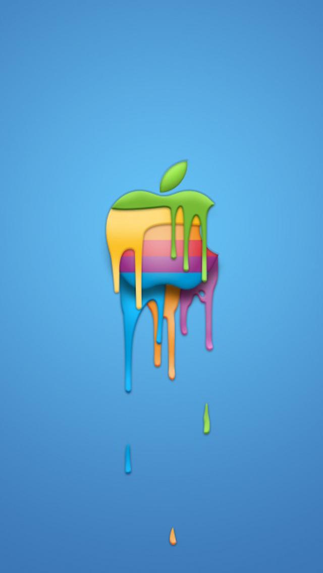 Cool apple logo 11 iPhone 5 wallpapers Top iPhone 5 Wallpaperscom 640x1136