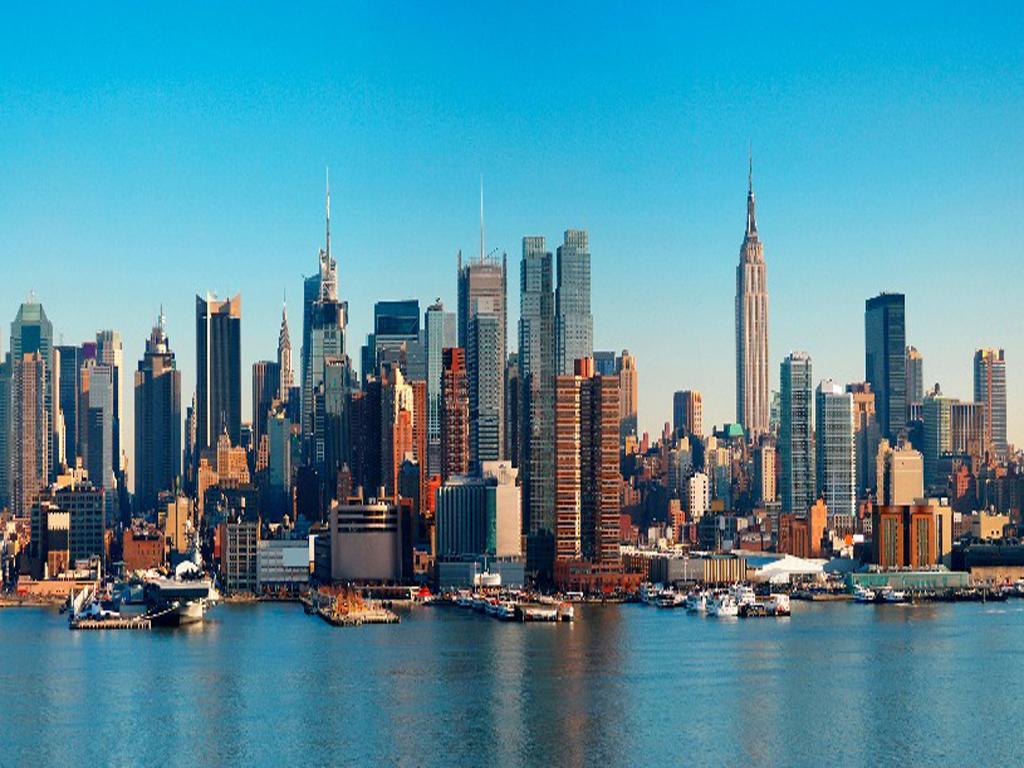 Manhattan Skyline Wallpaper Wallpapersafari