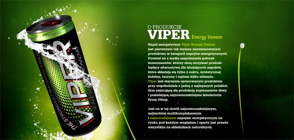 Viper Energy Venom polish energy drink 585x280
