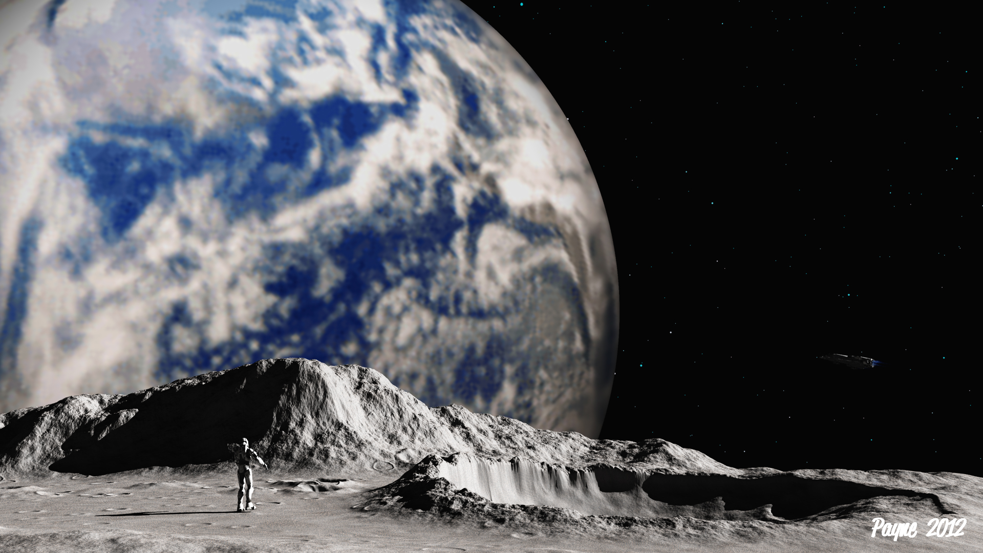 Free Download Source Httplance66deviantartcomartman On The Moon