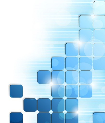 Modern Abstract Blue Boxes Background Vector   TitanUI 434x506