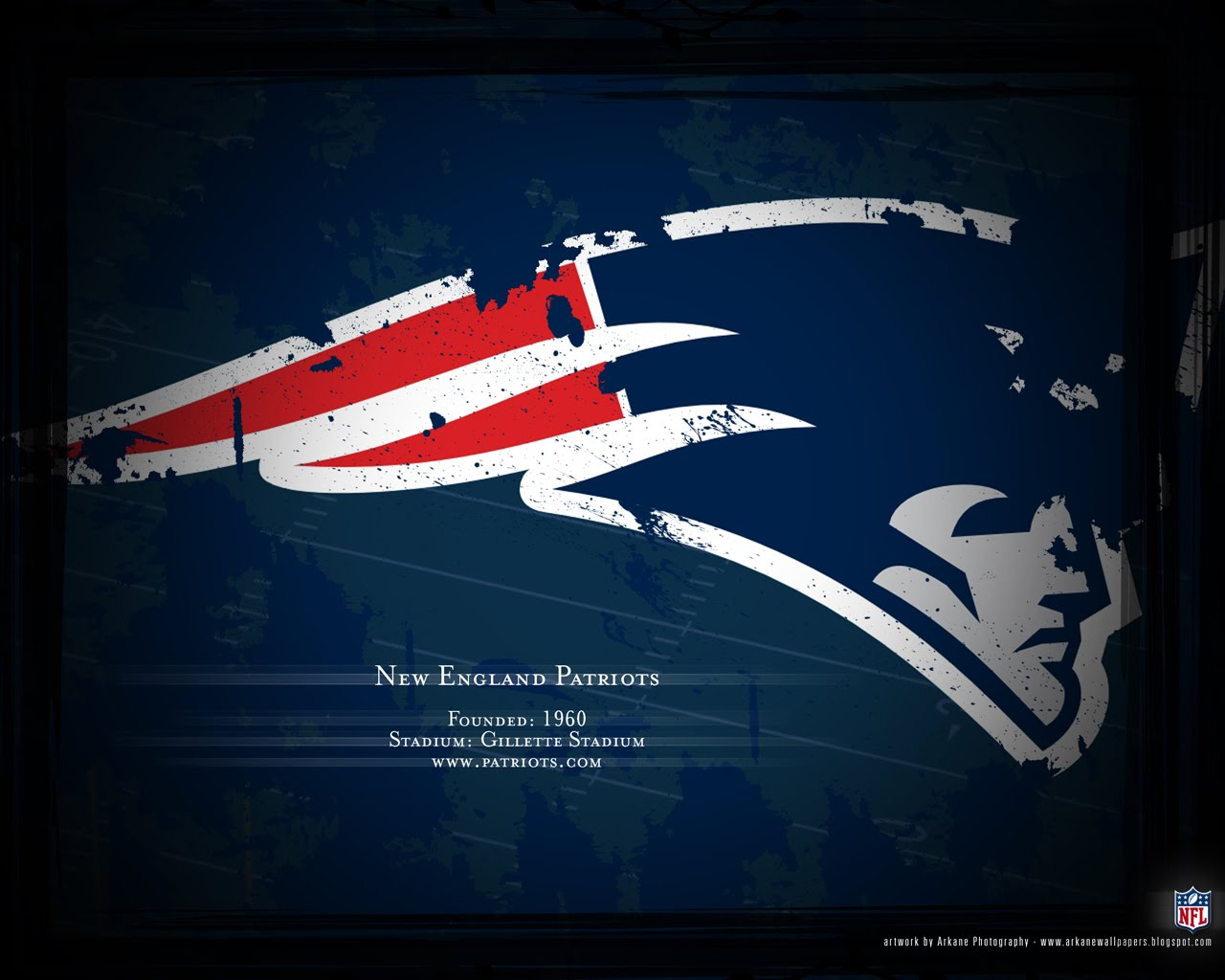 Arkane NFL Wallpapers Profile   New England Patriots 1280x1024