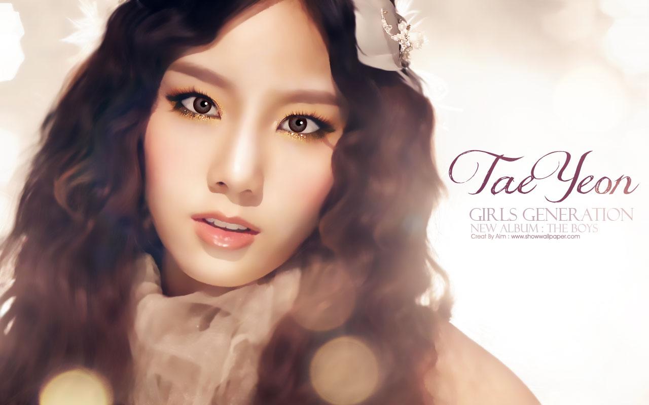 TAEYEON   Taeyeon SNSD Wallpaper 29115141 1280x800