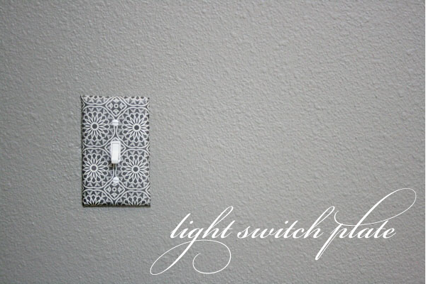 Daily Delight Decoupage Your Light Switch HGTV Design Blog 600x400