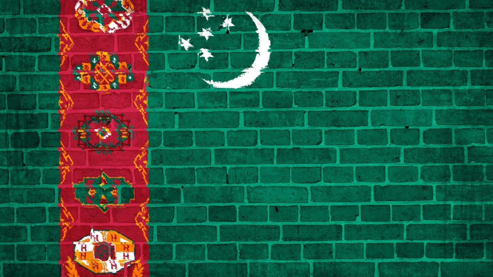 flag of Turkmenistan Wallpaper and Background Image 1600x900 1600x900