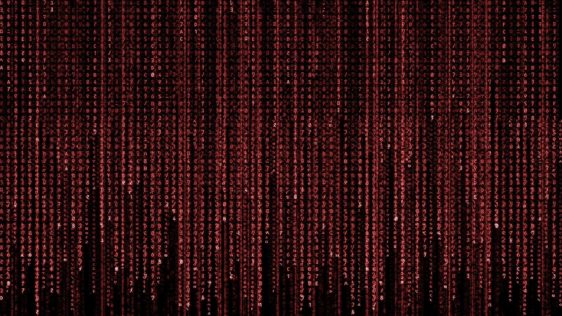 Matrix code wallpaper 1920x1080 337941 WallpaperUP 1920x1080