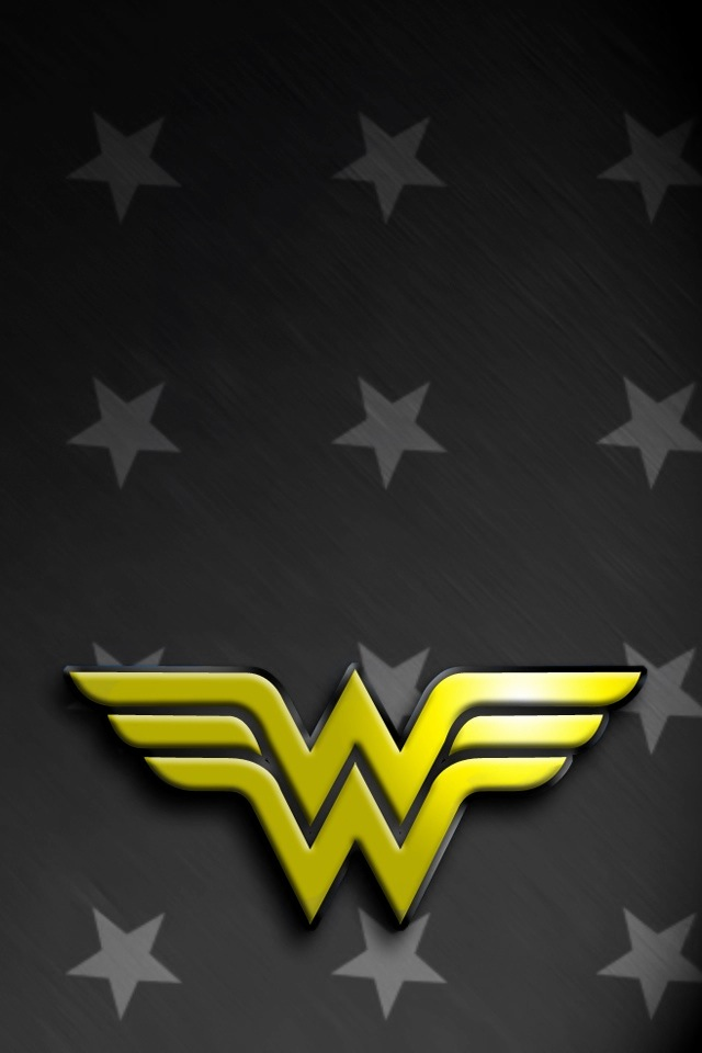 Wonder Woman Logo Wallpaper For Iphone Pictures 640x960