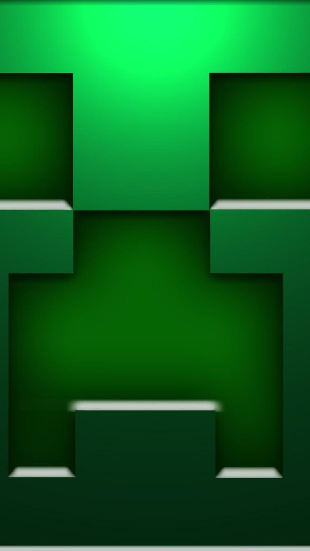 Download Minecraft Creeper Wallpaper Mobile Phone Wallpaper Hd