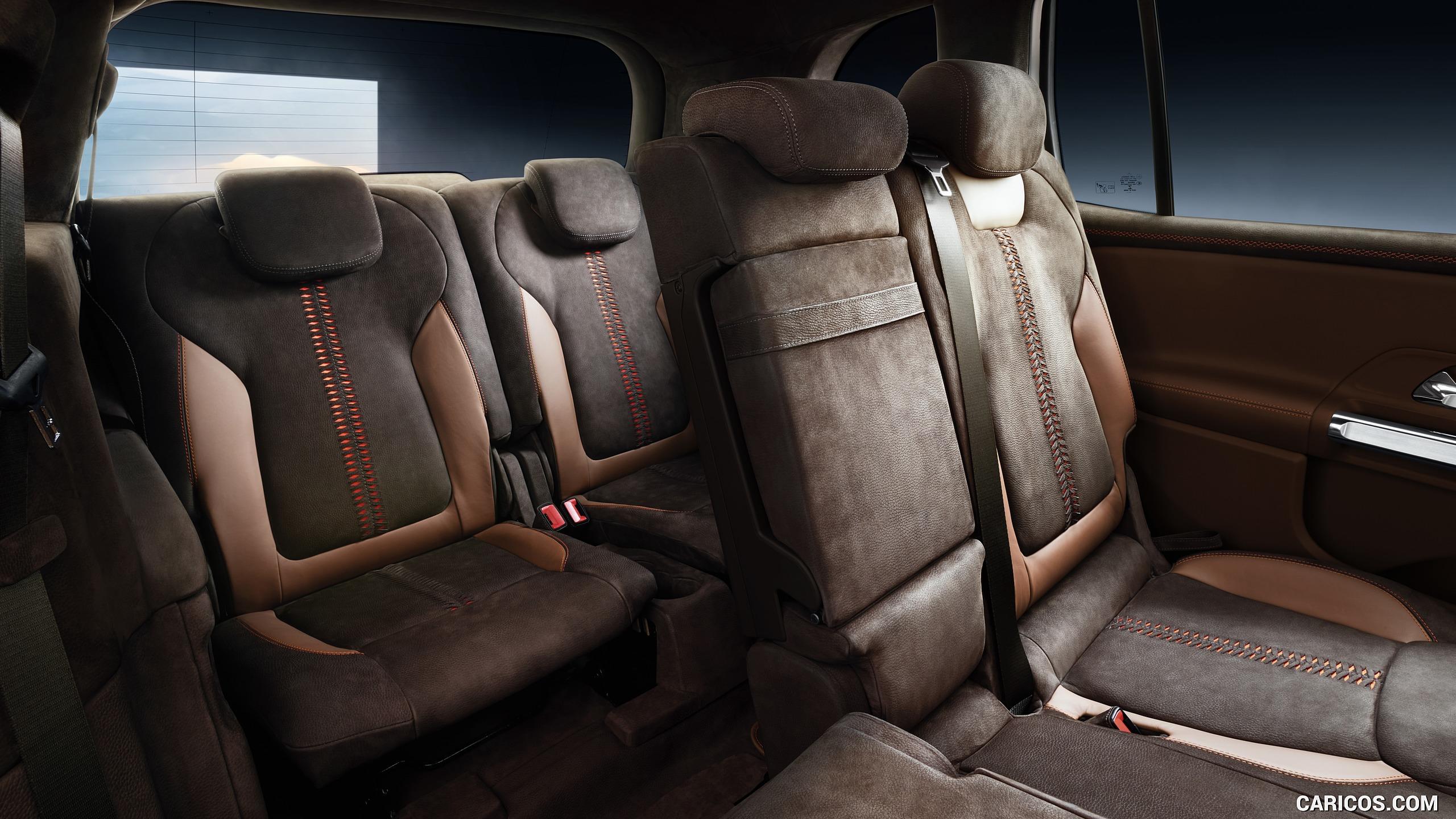 2019 Mercedes Benz GLB Concept   Interior Third Row Seats HD 2560x1440