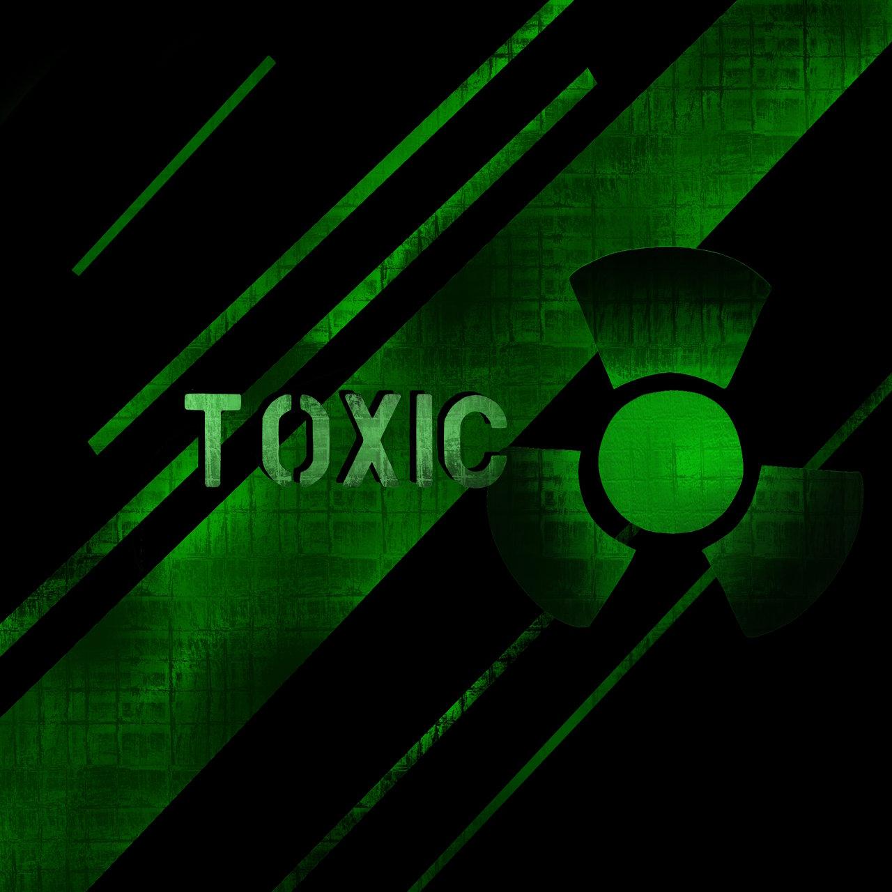 Toxic Symbol Wallpaper Edge 1280x1280