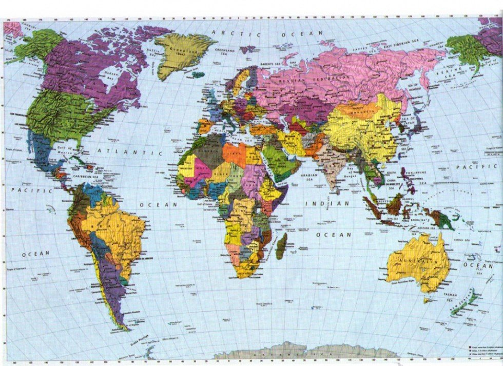 World Map Wallpaper High Resolution - WallpaperSafari