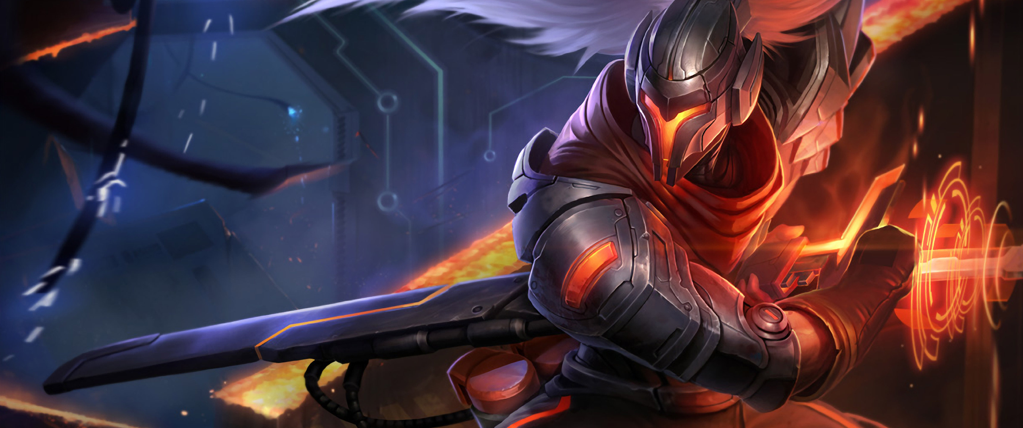 Yasuo Computer Wallpapers Desktop Backgrounds 3440x1440 ID663780 3440x1440