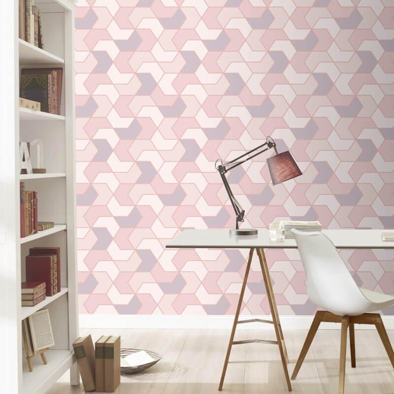 Go Wallpaper Ltd UK on Twitter Trending Now Rasch Geometric Hex 800x800