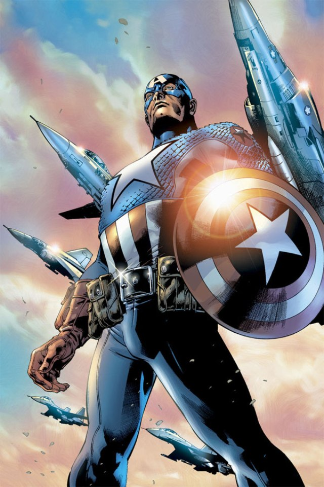 iphone 4 wallpaper Smith captain america is high quality wallpaper 640x960