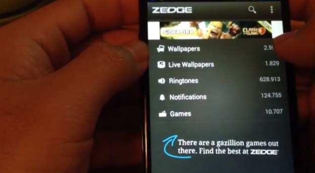 suonerie gratis zedge