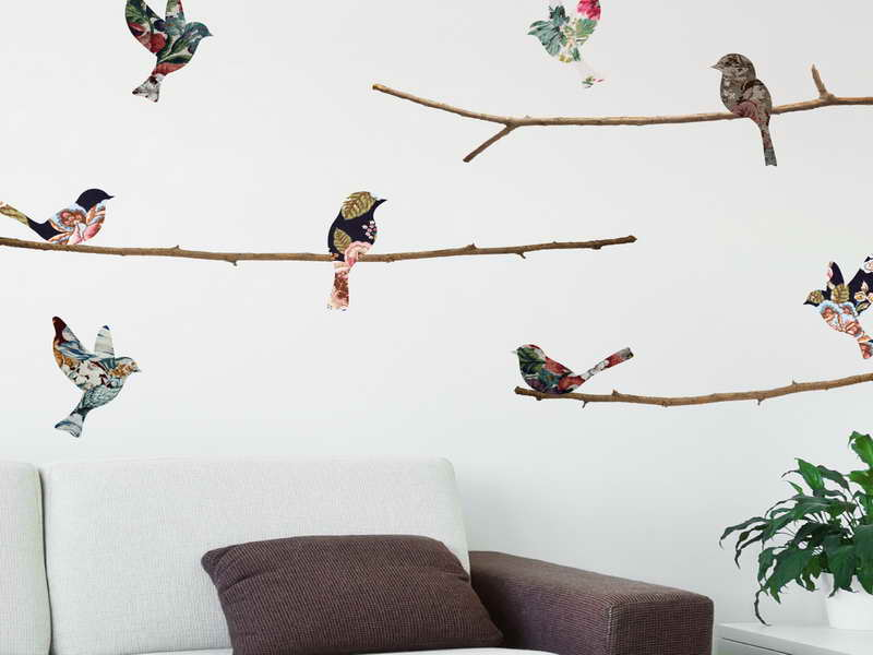 Bird Wallpaper For Walls Decor Small Branch Bird Wallpaper For Walls 800x600