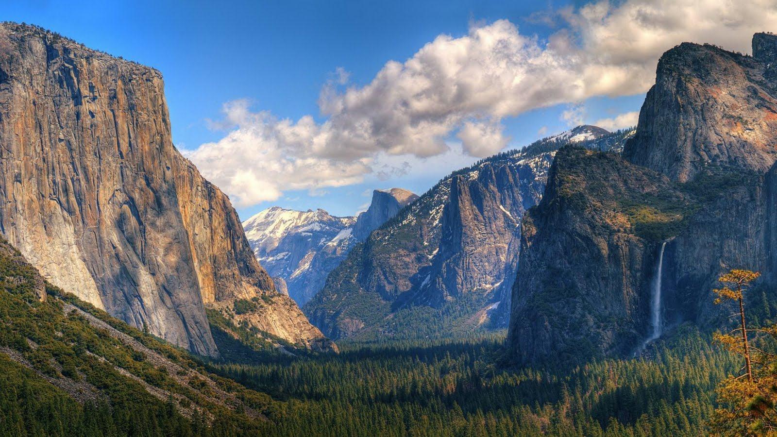 Backgrounds   Yosemite valley USA download wallpapers HD desktop 1600x900