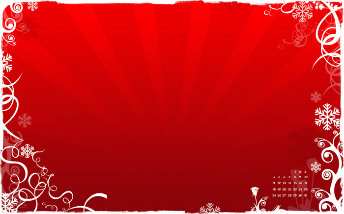 Red Christmas themed wallpaper 700x437