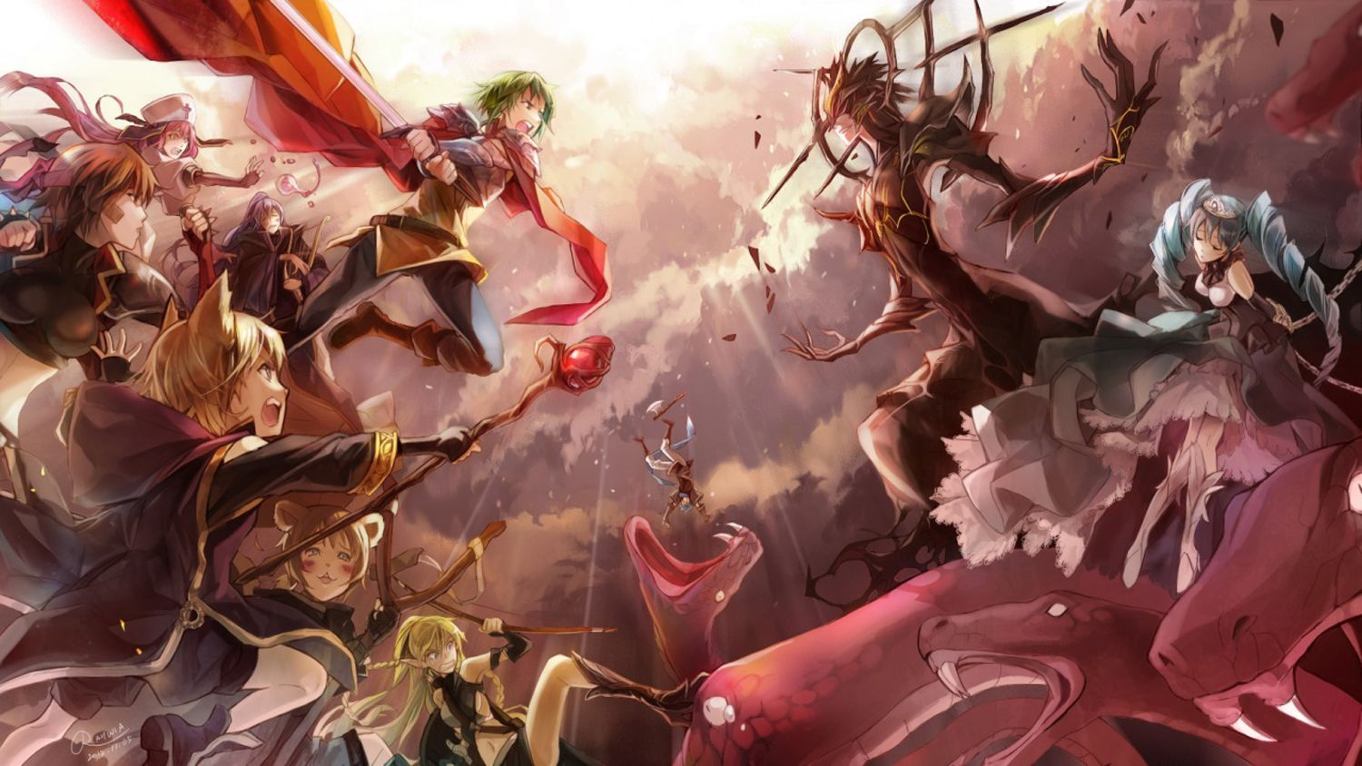 Anime Battle Wallpapers   Top Anime Battle Backgrounds 1500x844