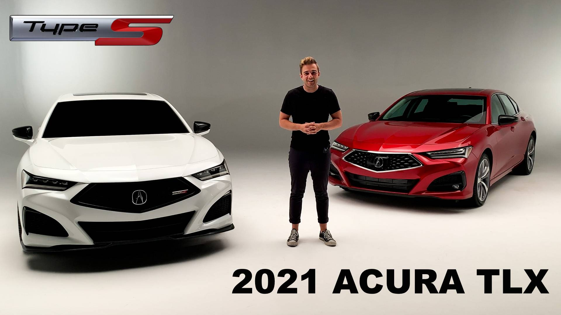 First Look See The 2021 Acura TLX Type S Up Close On Video 1920x1080