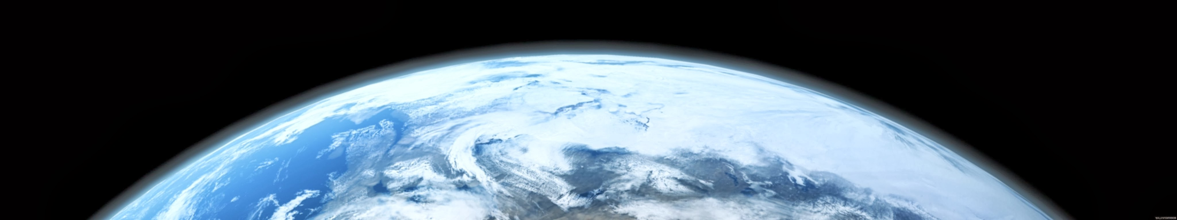WallpaperFusion Earth From Beyond Original 5760x1080 Wjpg 4096x768