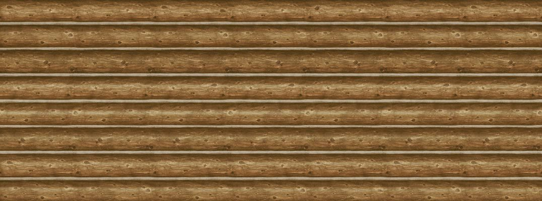 Log Wall Mural   Lodge Outdoors Wallpaper   InteriorPlacecom 1076x400