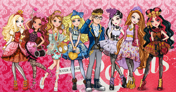 All about Monster High Royals Rebels 747x393
