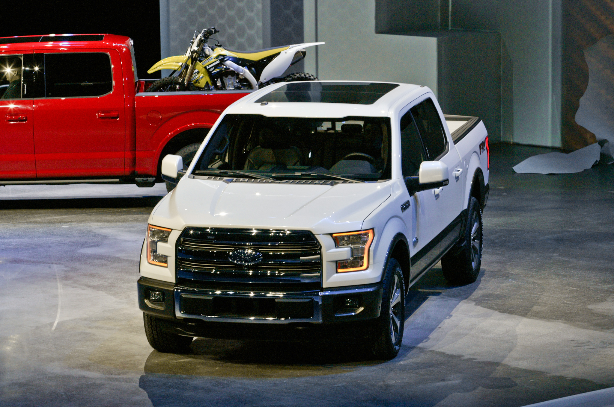 2015 Ford F 150 41 Background Wallpaper 2048x1360