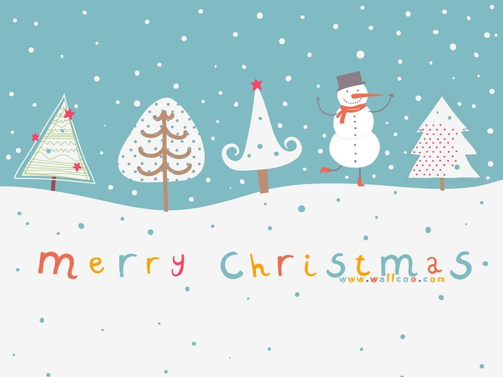 Cute Christmas Wallpapers   Top Cute Christmas Backgrounds 1024x768