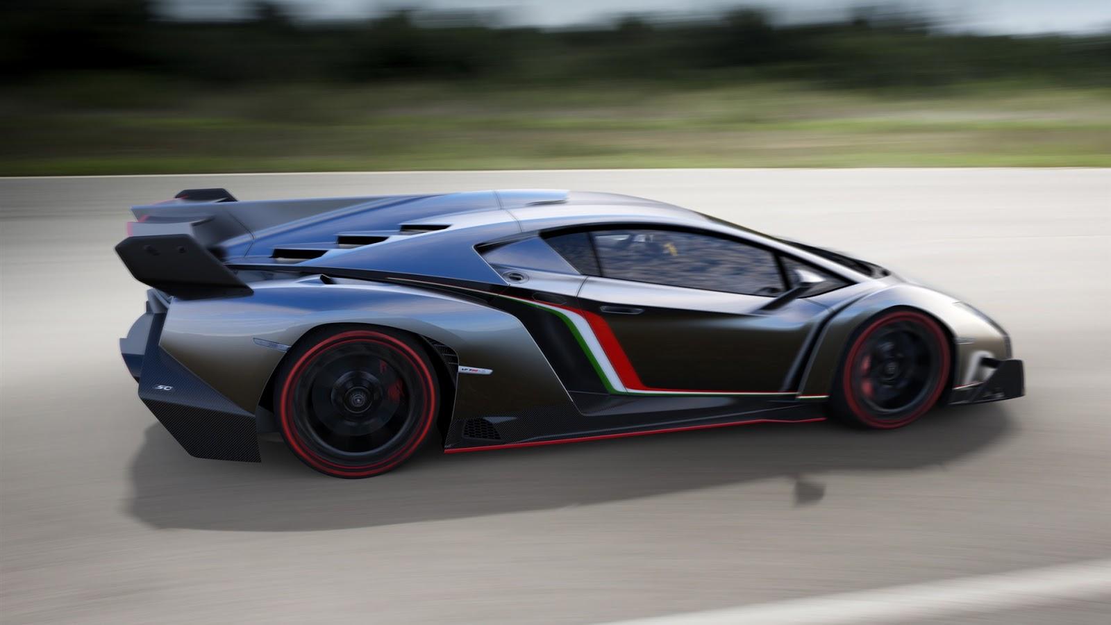 Supercar Lamborghini Veneno | Full HD Desktop Wallpapers 1080p