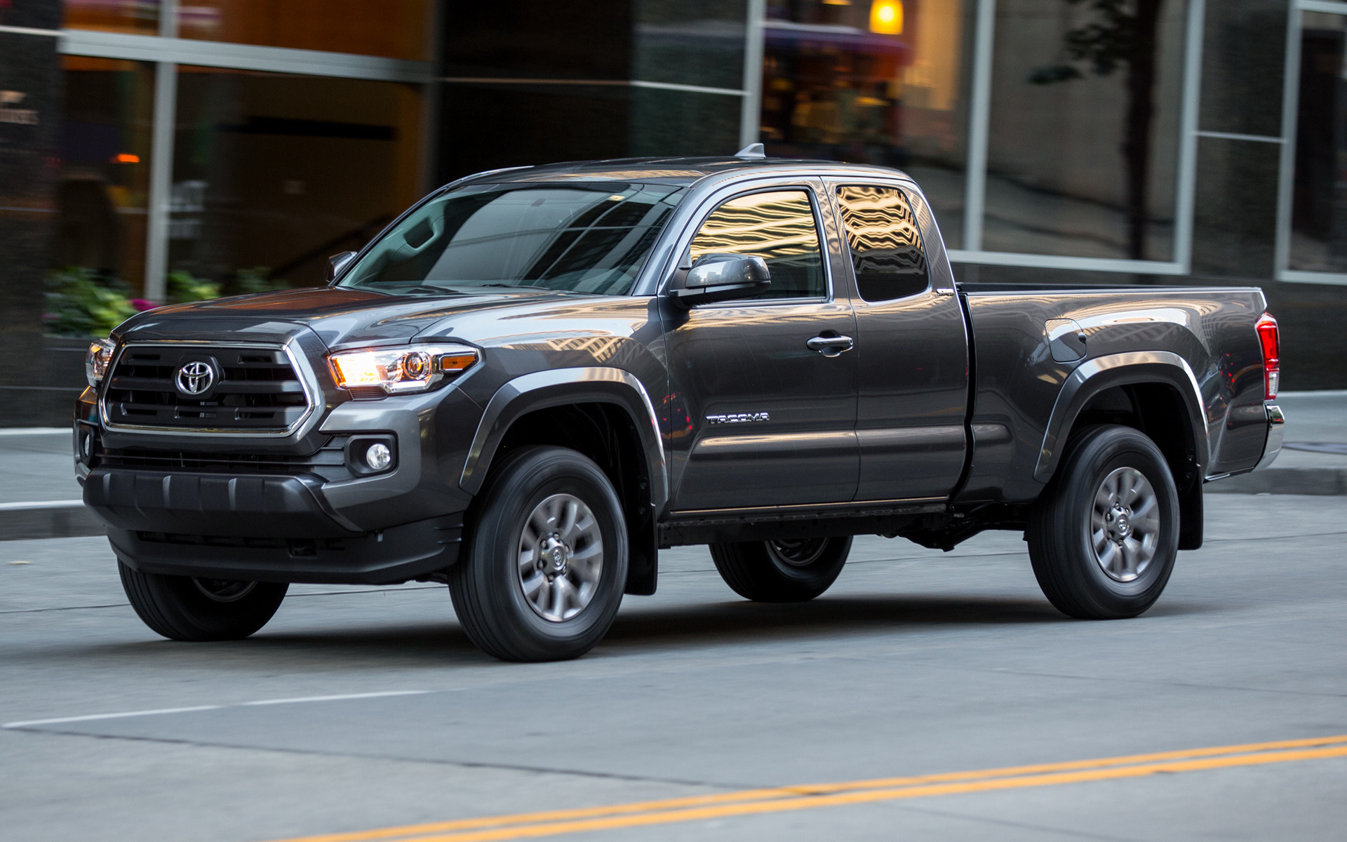 Toyota Tacoma SR5 Access Cab 2016 Wallpapers and HD Images 1920x1200