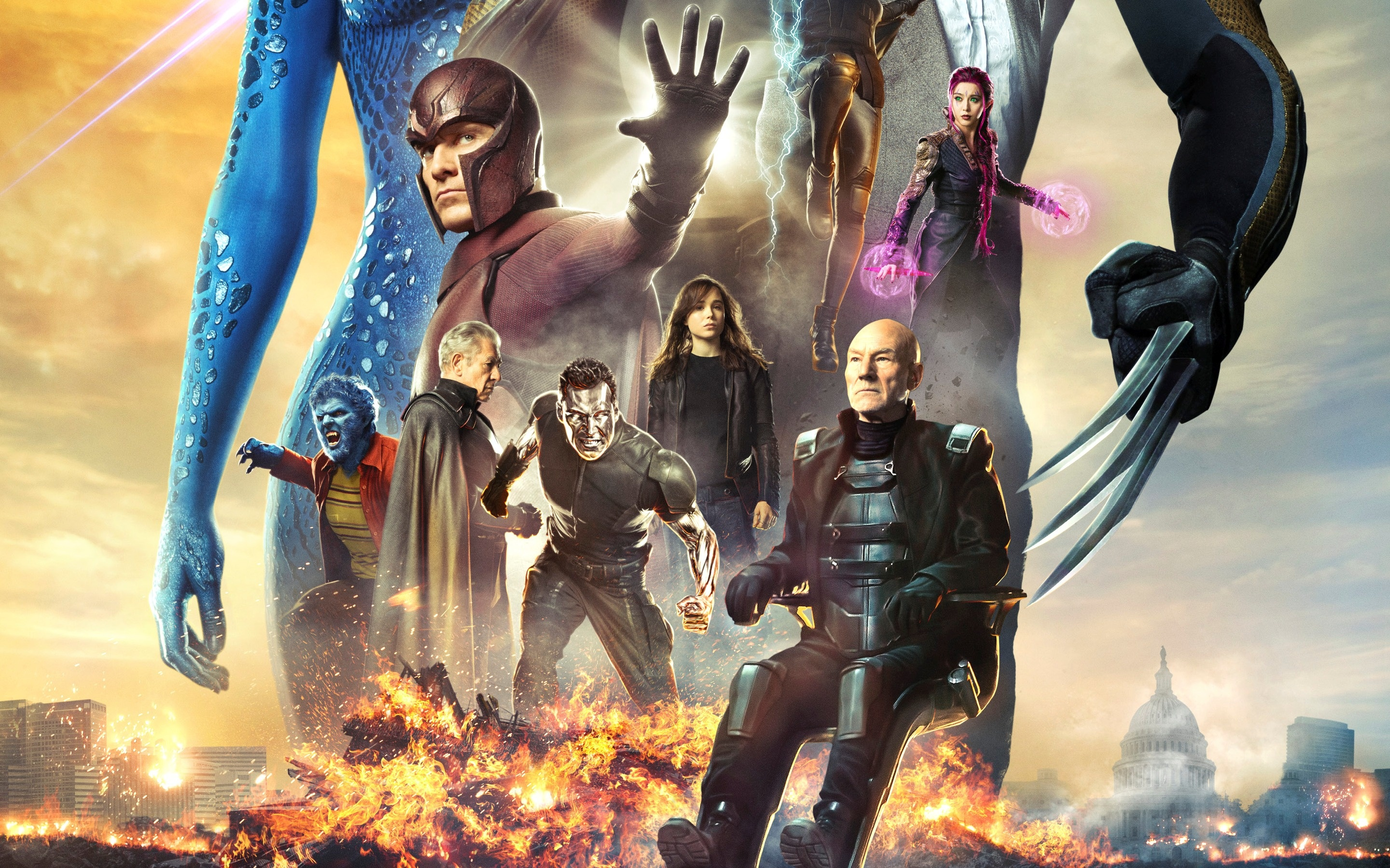 X Men Days Of Future Past Movie Wallpapers   2880x1800 2880x1800