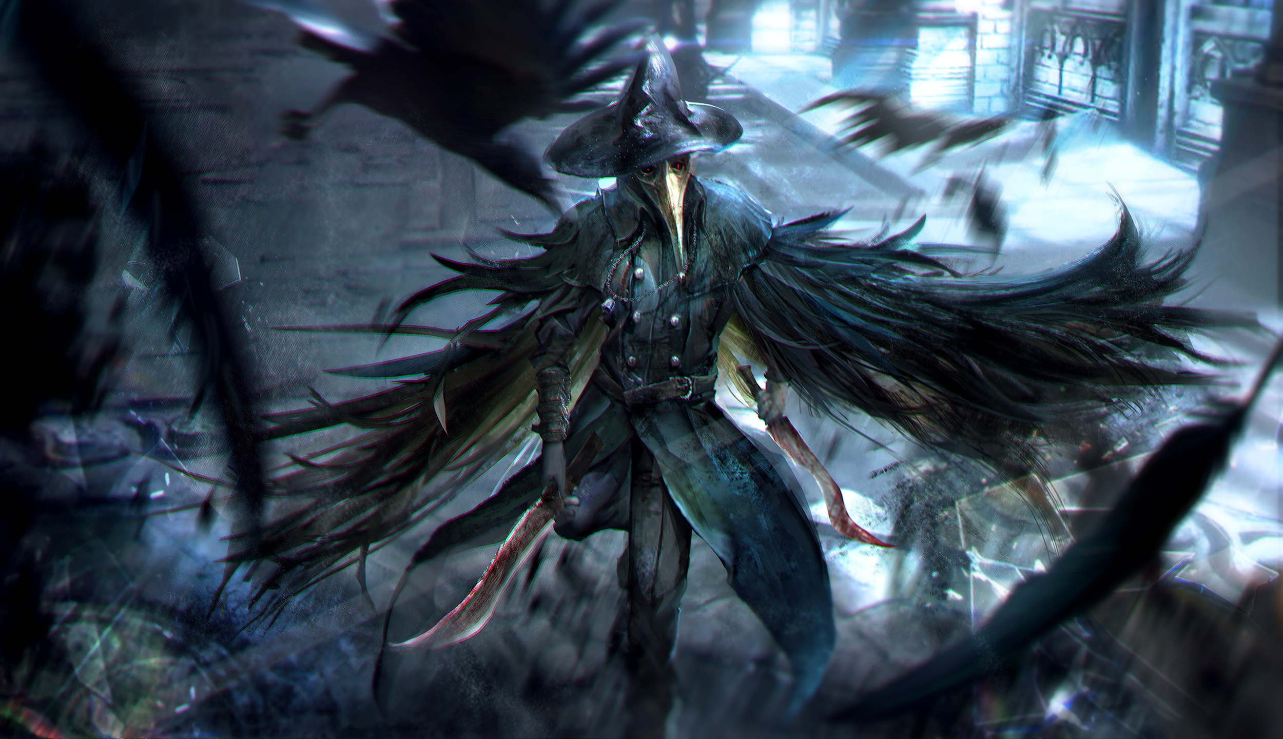 Bloodborne Full HD Wallpaper and Background 2500x1440 2500x1440