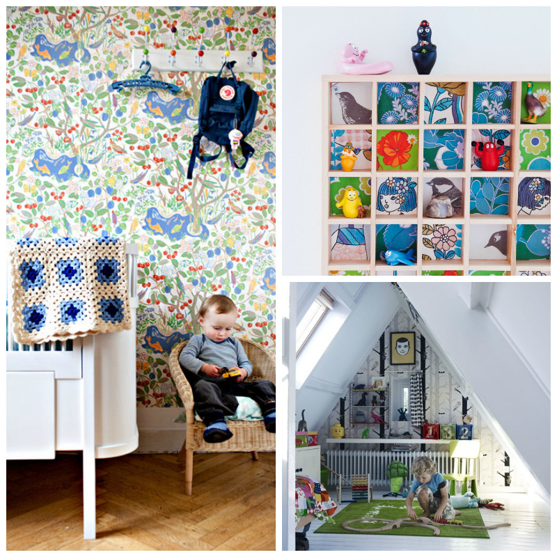 Children s room wallpaper wallpapersafari for Kids room wall paper