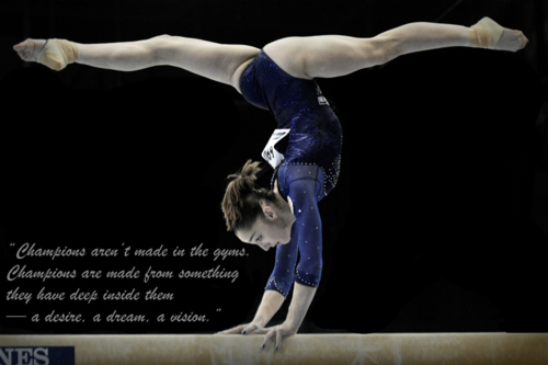 Love Gymnastics Wallpaper Download 500x333