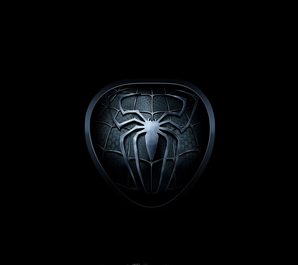 Spider Logo Android mobile phone wallpaper HD 960x853