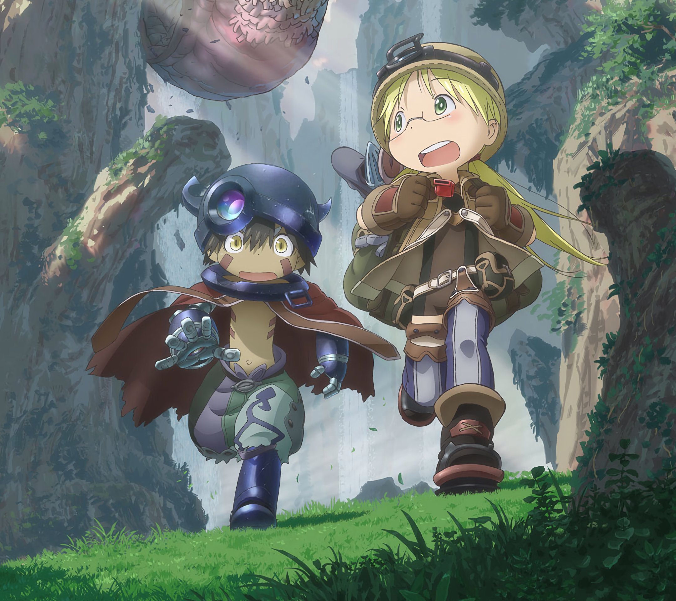 Made in Abyss anime phone wallpapers 2160x1920