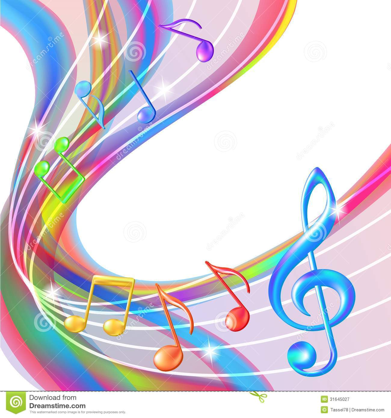 1300x1390px Colorful Music Notes Wallpaper Wallpapersafari