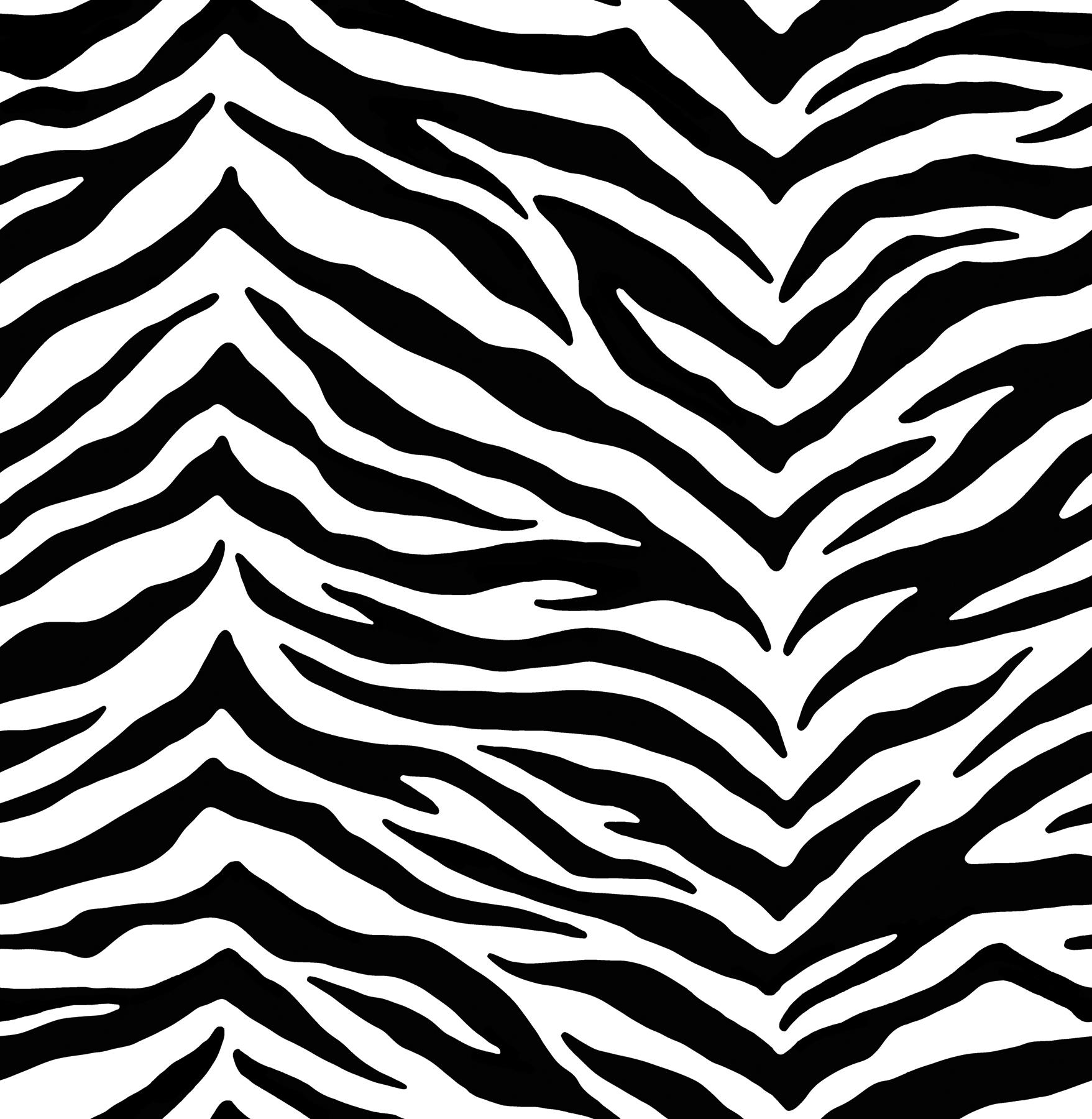 Black White Zebra Wallpaper 1757x1800