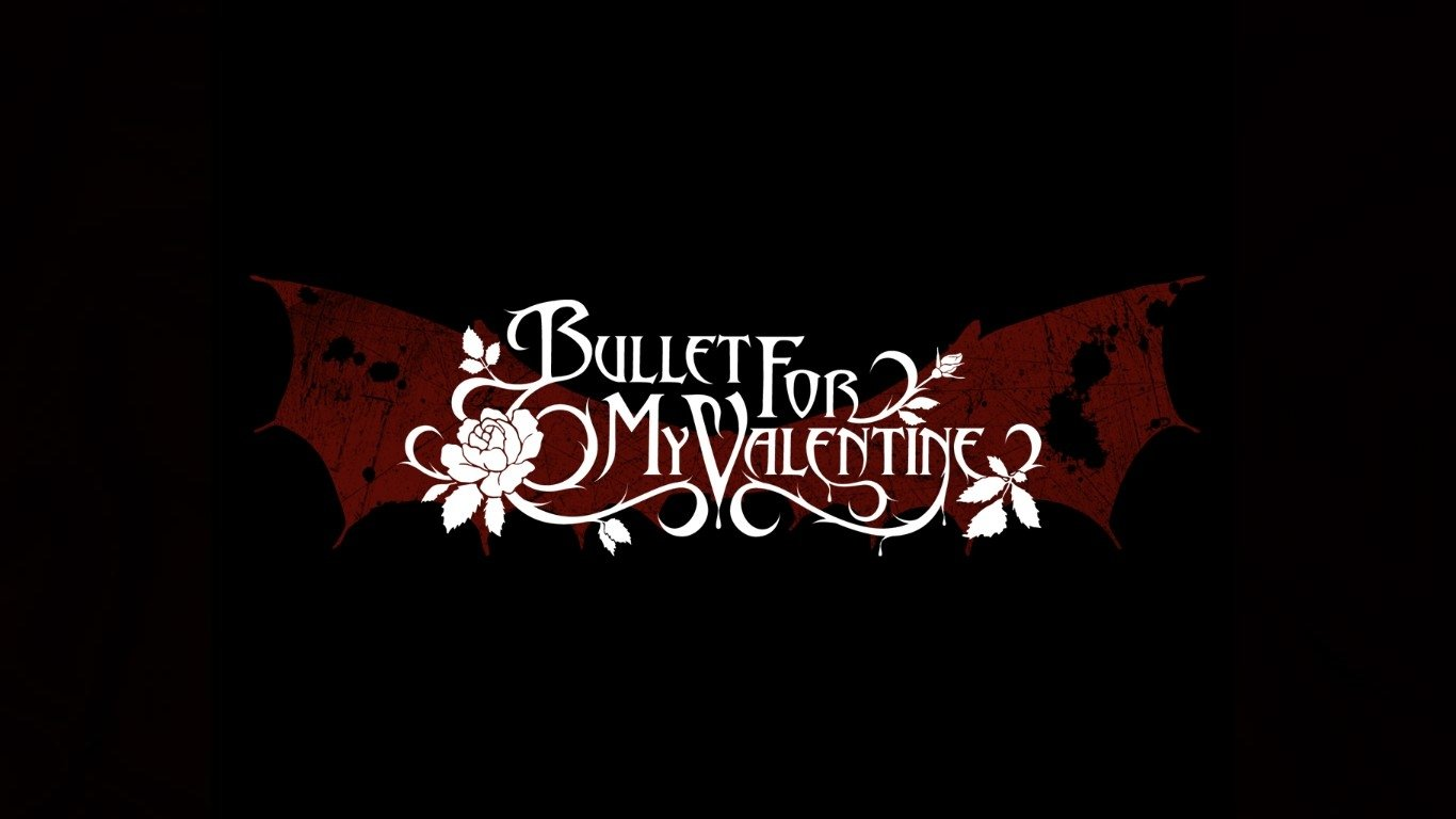 Bullet For My Valentine Wallpapers Widescreen K59516N   4USkY 1366x768