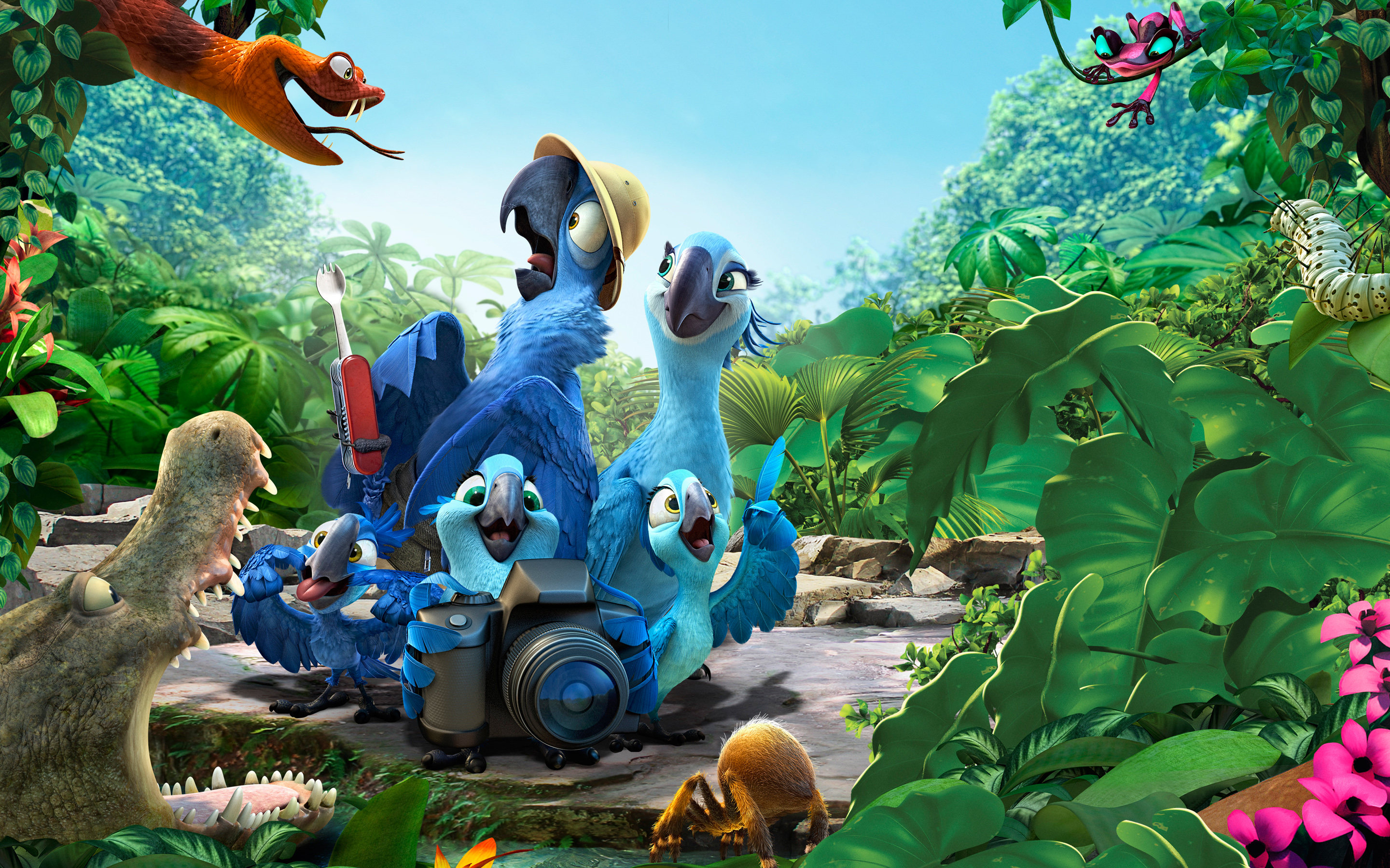 2014 Rio 2 Movie Wallpapers HD Wallpapers 2880x1800