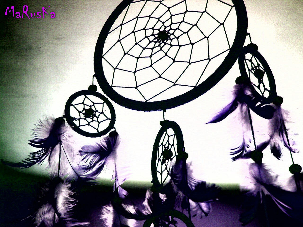 Group Of Dream Catcher Background