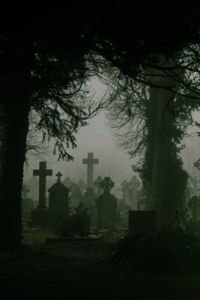 Dark Cemetery   Mobile Abyss 640x960