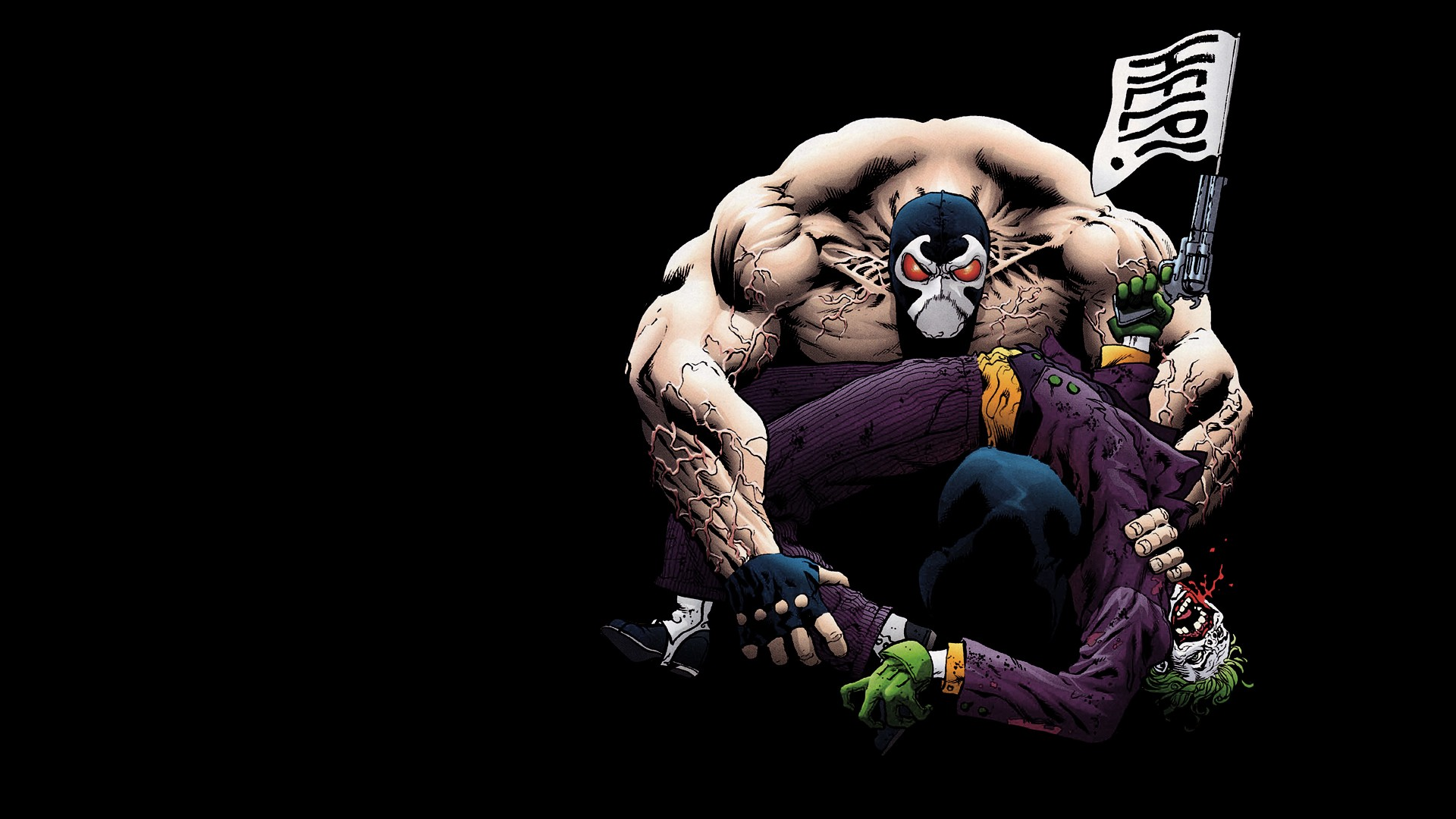 Joker Wallpapers Bane and Joker Myspace Backgrounds Bane and Joker 1920x1080