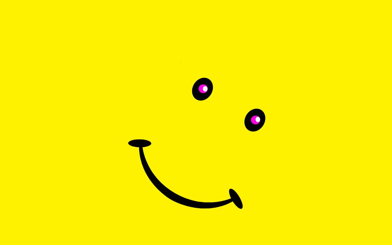 Cool Smiley Faces Wallpaper Smiley face 1280x800