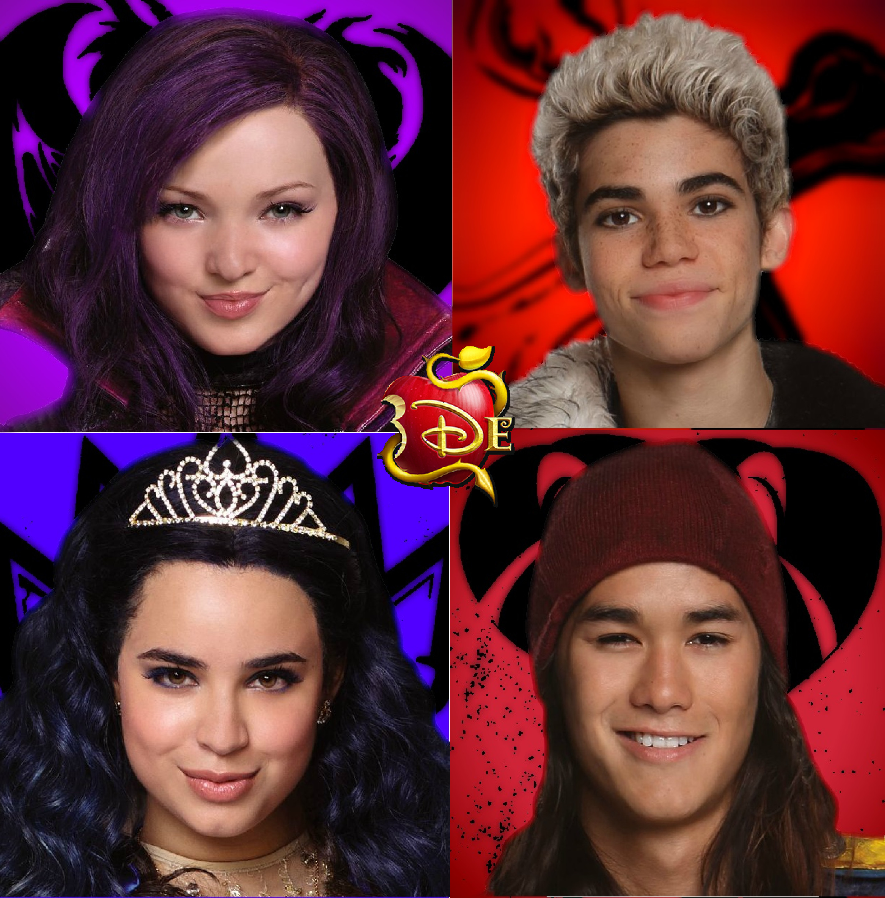 Disney Descendants of couse by ichaelbarnes. ← Mal Descendants Wallpaper